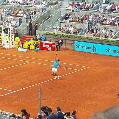 Bellissimo centro per il tennis