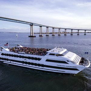 Imagine this view aboard your Sights & Sips Sunset Cruise