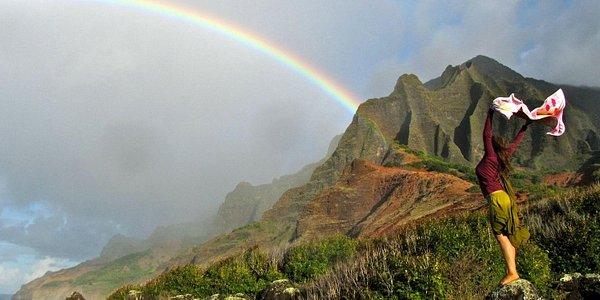 Nāpali Coast Rainbow