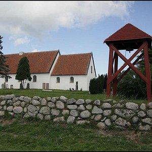 Råbjerg kirke uden for muren
