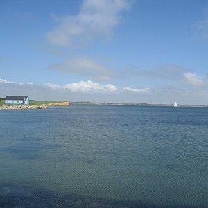 Nord for Jegindø Havn mod Bøl
