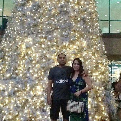 Christmas tree at Market Market