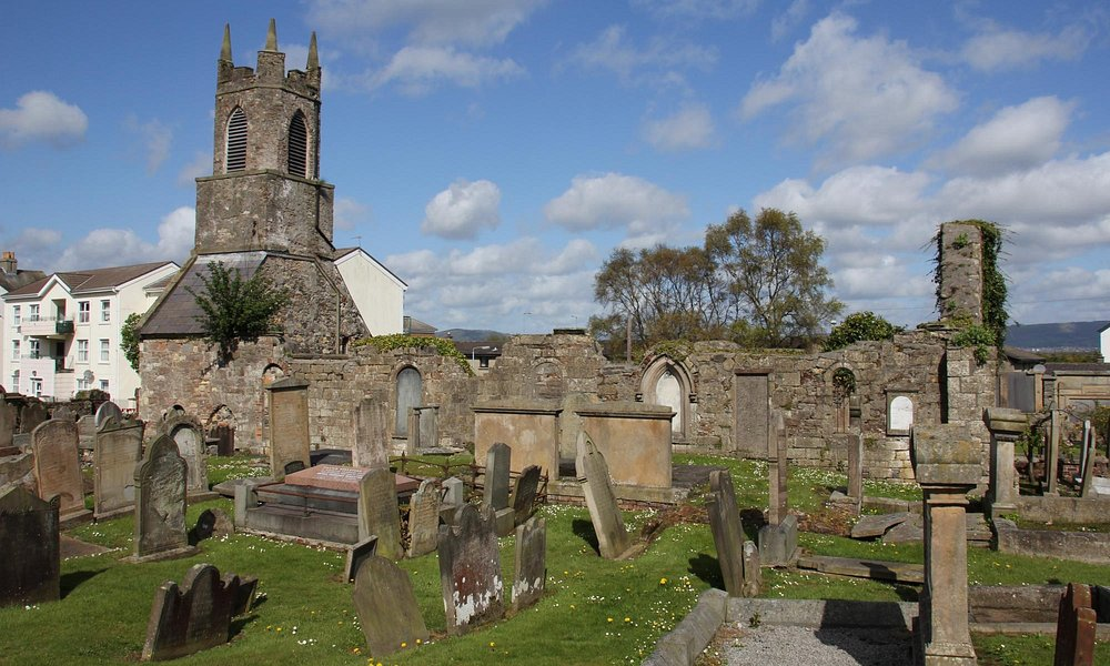 Old Priory church, Holywood, County Down 040515