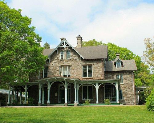 Francis Cope house at Awbury arboretum
