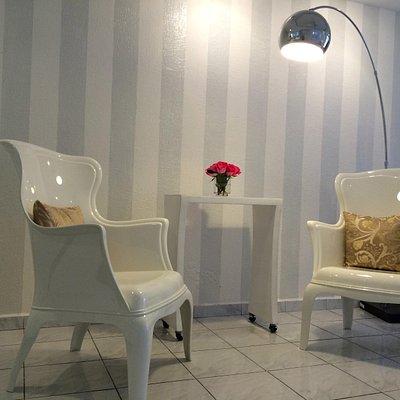 Nuestro espacio maravilloso para manicure y pedicure