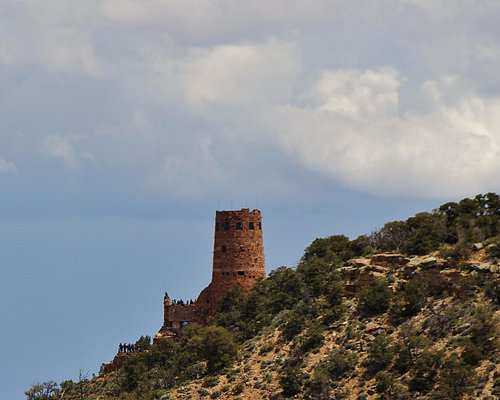 View of the Desert View Tower