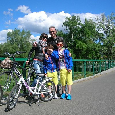 City bike tour for families with kids!