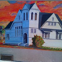 Beautiful Tile Painting Congregational Community Church in Celebrating 125 Years