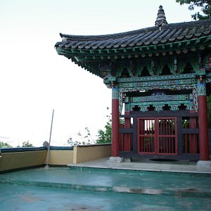 Temple on the hilltop