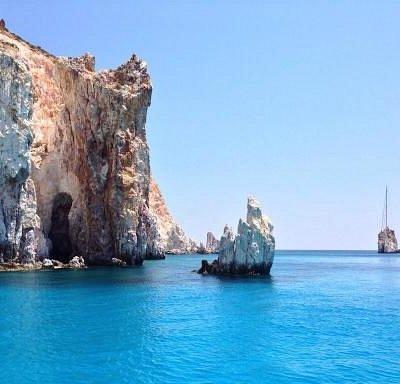 Baignade en mer dans des eaux incroyablement belles!
