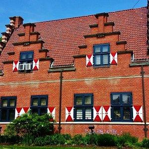 Classic Dutch architecture