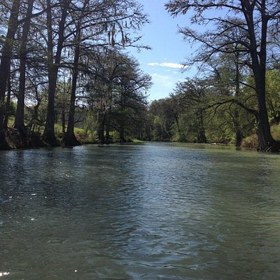 Guadalupe River by canoe