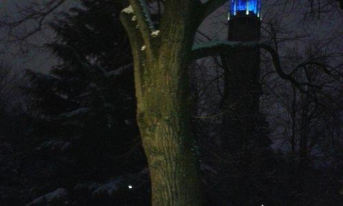Tour Perret un soir d' hiver