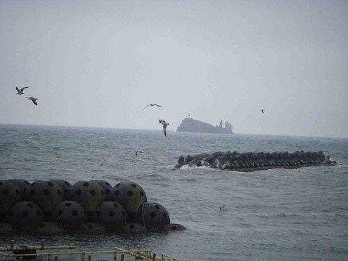 鯛島の遠景