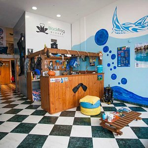 Black Frog Divers, scuba diving centre in Torrox Costa,south Spain