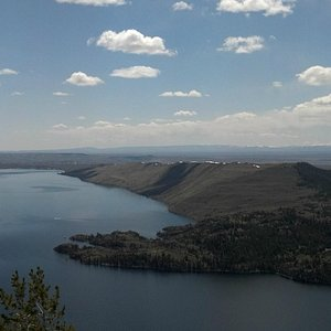 Skyline Scenic Drive Overlook from top, Pinedale, Wyoming