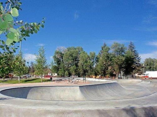 Wrangler Skate Park, Pinedale, Wyoming