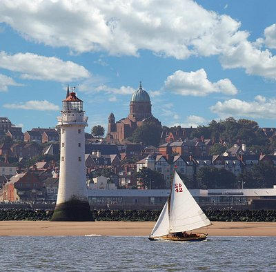 View from Liverpool Bay by Steve Billington