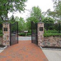 Lenape Park gateway