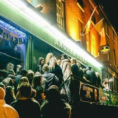 Outside of  Raglan Road Irish Bar Nottingham