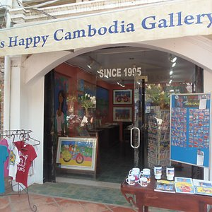 Happy Cambodia Arts Gallery