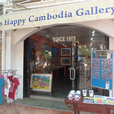 Happy Cambodia Arts Gallery