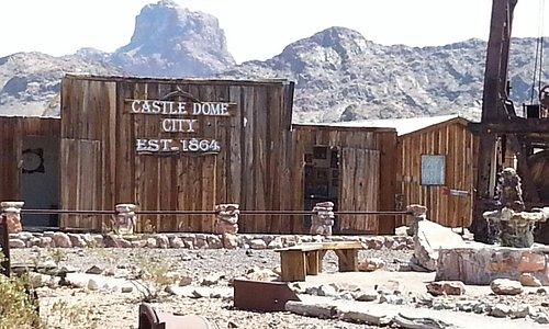 Castle Domes Mine