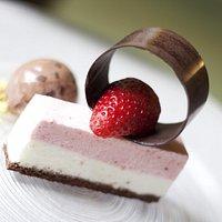 dessert fragole