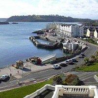 Plymouth Hoe Promenade/Drakes Island/Cornwall