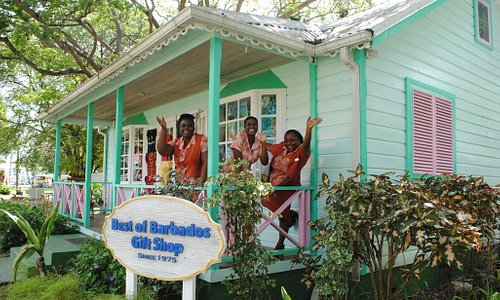 There's always a cheery welcome at Best of Barbados, Chattel Village, Holetown