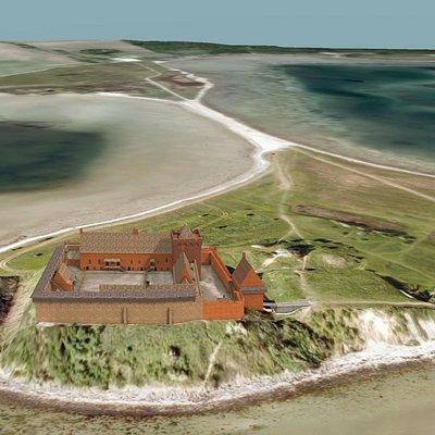 3D rekonstruktion af borgen