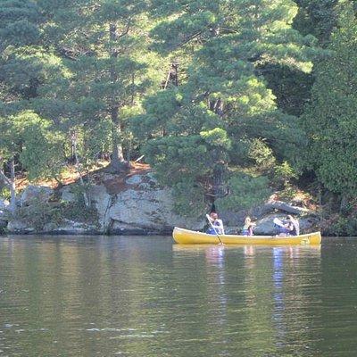 Exploring Canisbay Lake