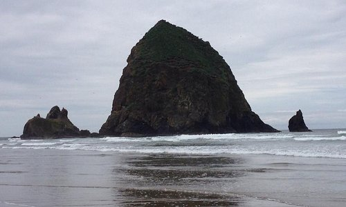 Nearby Cannon Beach.