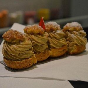 Sainte Honoré Pastry Cake during the Gourmet Tour