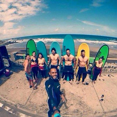 Escuela de surf tenerife grupos reducidos
