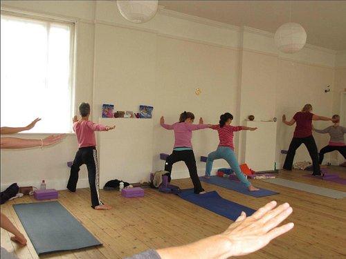 Iyengar Workshop photo