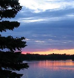 Sunset at Ward Park