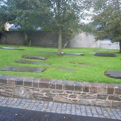 Teil des Friedhofs