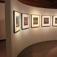 Brunnier Art Museum art exhibit.