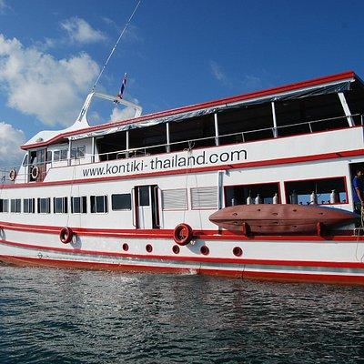 Petchmanee 10 Kon-Tiki Krabi diving boat