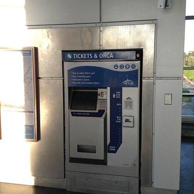 Pay Station near train