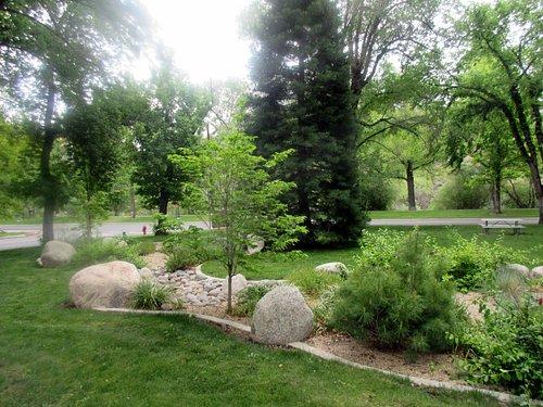 Garden Area, McKinley Arts and Culture Center, Reno, NV
