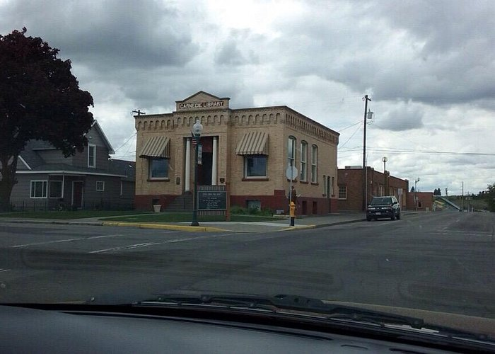 Library in Ritzville, WA