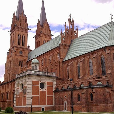 Cathedral in Wloclawek