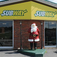 Subway Restaurant in Santa Claus, Indiana