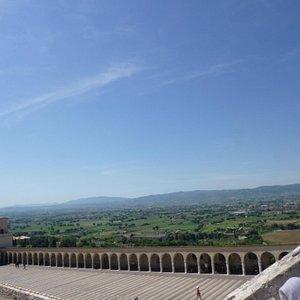 La Toscane, vue imprenable