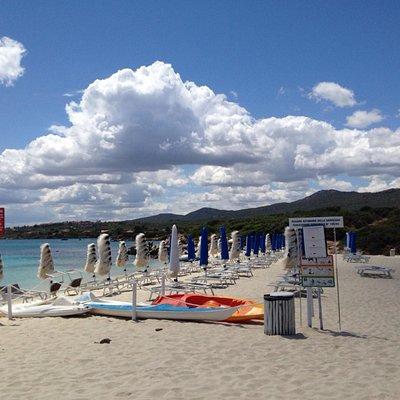 Spiaggia bianca!!