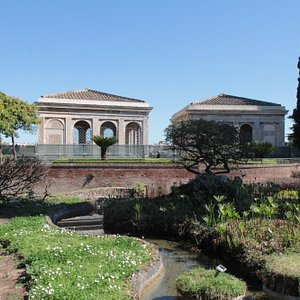Farnese Gardens at Palatine Hill