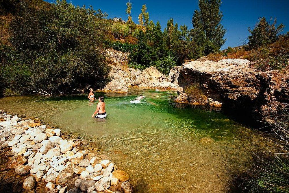 Toll dels Arenals - piscina natural