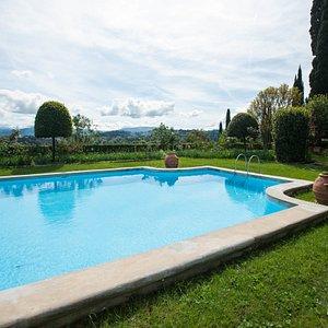The Pool at the Torre Di Bellosguardo